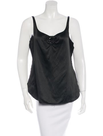 Marc Jacobs Embellished Sleevelesstop None