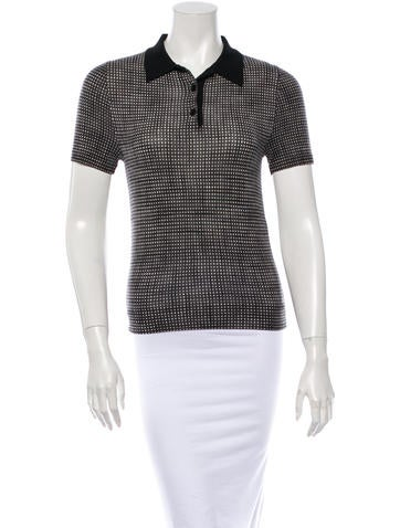 Marc Jacobs Short Sleeve Top None