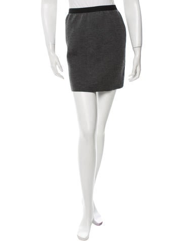 Marc Jacobs Mini Pencil Skirt None