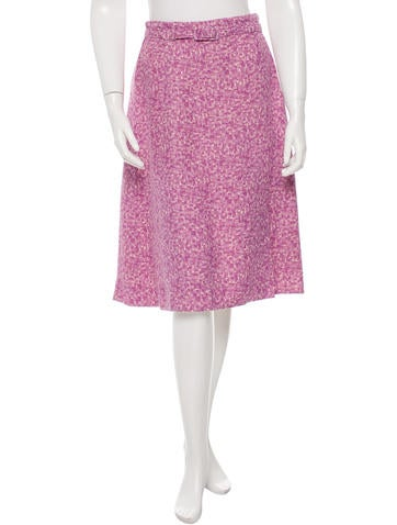 Marc Jacobs Printed Knee-Length Skirt None