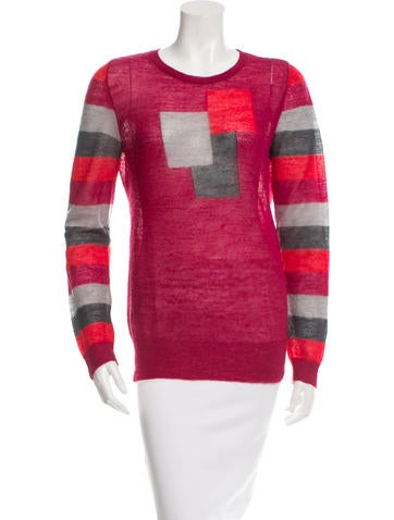 Marc Jacobs Knit Geometric Pattern Sweater None
