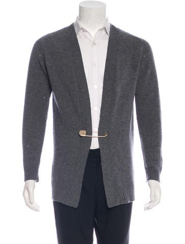 Marc Jacobs Distressed Wool Cardigan None