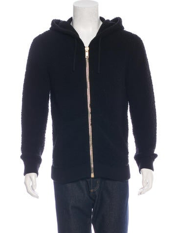 Marc Jacobs Sherpa Wool Zip Sweater None