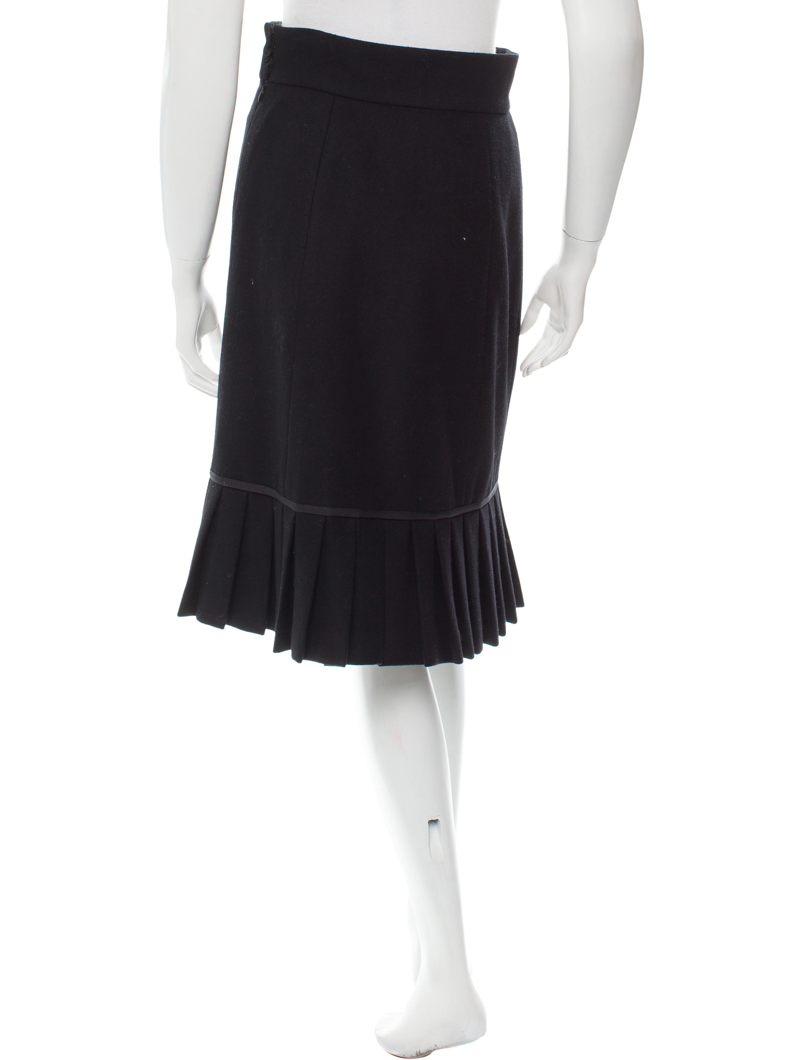 marc wool a line skirt clothing mar36567 the