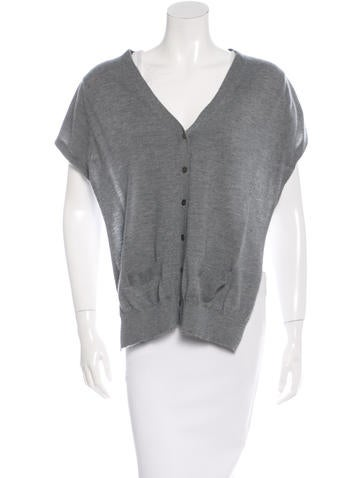Marc Jacobs Sleeveless Cashmere Sweater None