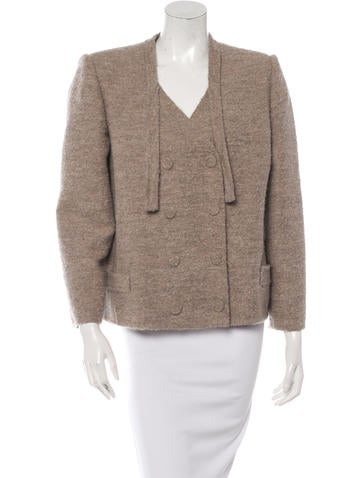Marc Jacobs Wool-Blend Double-Breasted Jacket