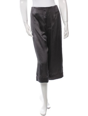 Marc Jacobs Silk Printed Culottes w/ Tags None