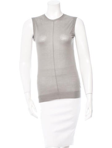 Marc Jacobs Cashmere & Silk-Blend Top w/ Tags None