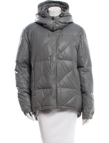 Marc Jacobs Hooded Puffer Jacket None