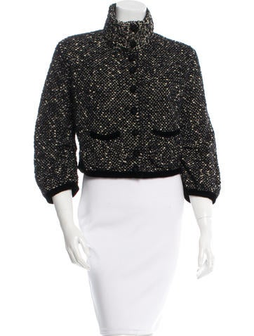 Marc Jacobs Knit Evening Jacket - Clothing - MAR38800 The RealReal
