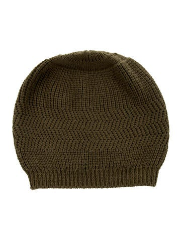 Marc Jacobs Wool Rib Knit Beanie None