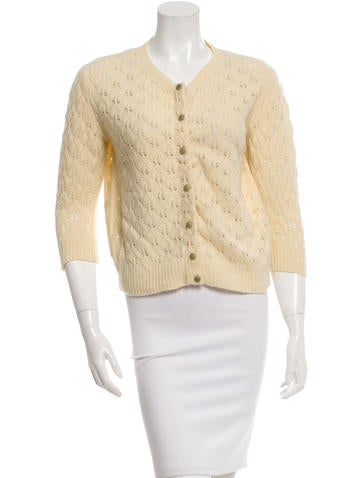 Marc Jacobs Cashmere & Wool-Blend Cardigan None