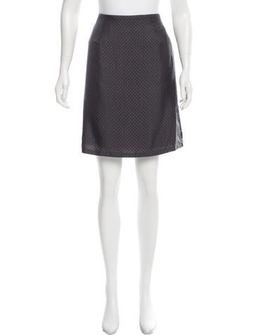 Marc Jacobs Silk Printed Skirt w/ Tags None