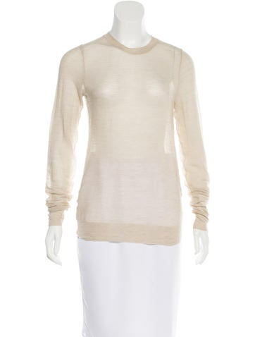 Marc Jacobs Cashmere Sheer Top w/ Tags None