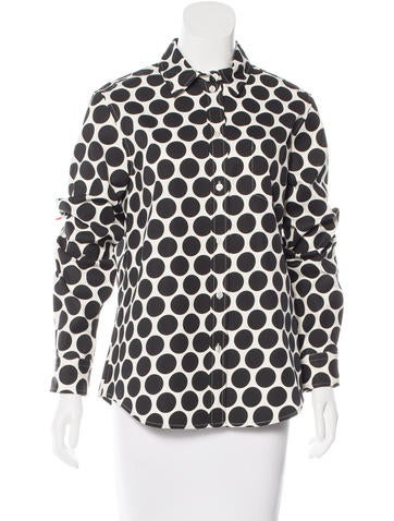 Marc Jacobs Polka Dot Button-Up Top w/ Tags None