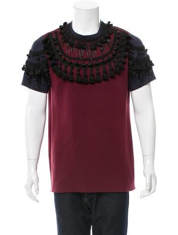 Marc Jacobs Embellished Short Sleeve Sweatshirt None