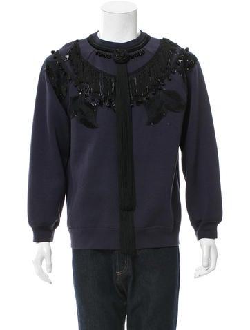 Marc Jacobs Embellished Crew Neck Sweatshirt None