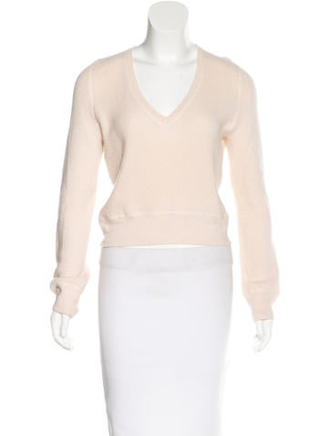 Marc Jacobs Cashmere Cropped Sweater None