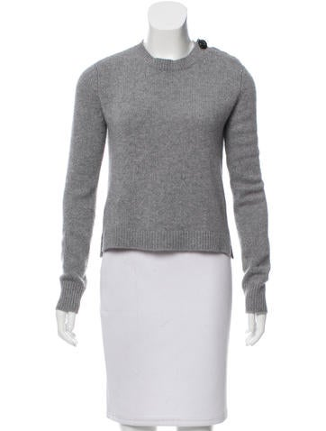 Marc Jacobs Crew Neck Cashmere Sweater None