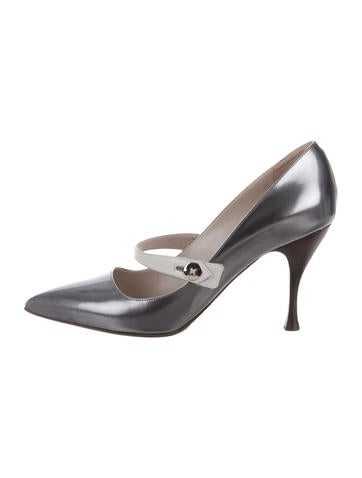 Marc Jacobs Patent Pointed-Toe Pumps