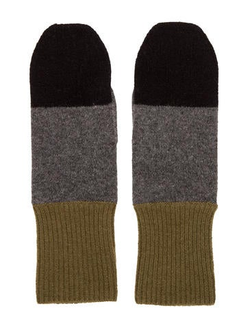 Marc Jacobs Cashmere Knit Mittens None