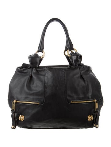 Marc Jacobs Leather Tote None