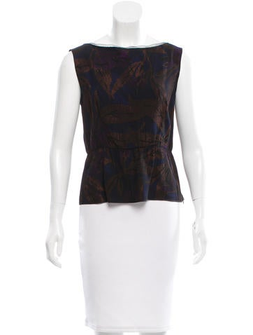 Marc Jacobs Mesh-Trimmed Sleeveless Top w/ Tags None