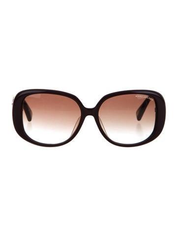 Marc Jacobs Oversize Square Sunglasses None