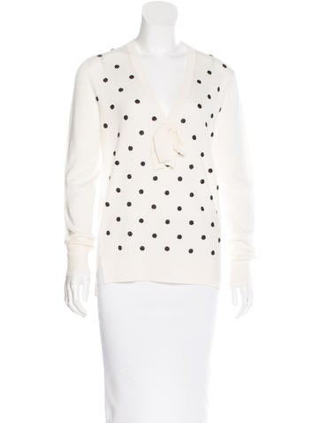 Marc Jacobs Embellished Merino Wool Sweater None