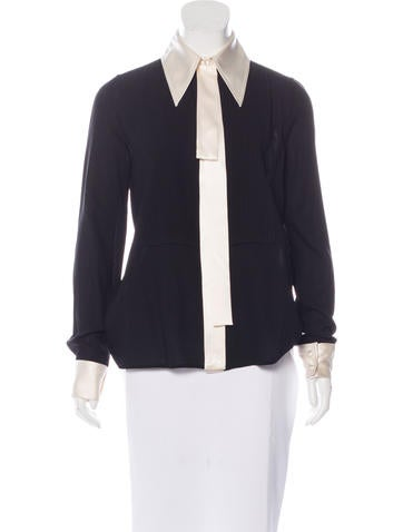 Marc Jacobs Wool Button-Up Top w/ Tags None