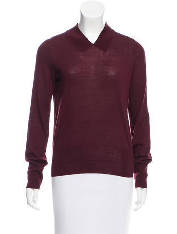 Marc Jacobs Wool V-Neck Sweater None