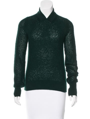 Marc Jacobs Cashmere Open Knit Sweater None