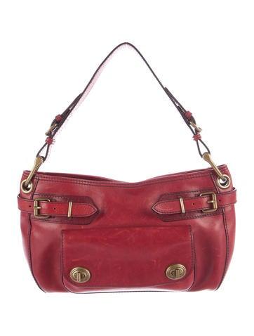 Marc Jacobs Leather Shoulder Bag None