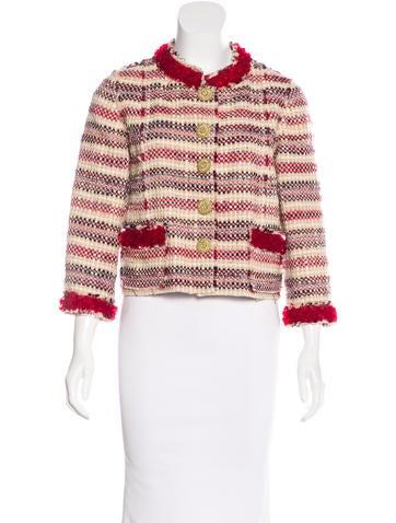 Marc Jacobs Embellished Wool Jacket