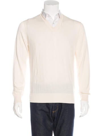 Marc Jacobs Knit V-Neck Sweater None