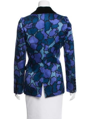 Silk Abstract Jacket