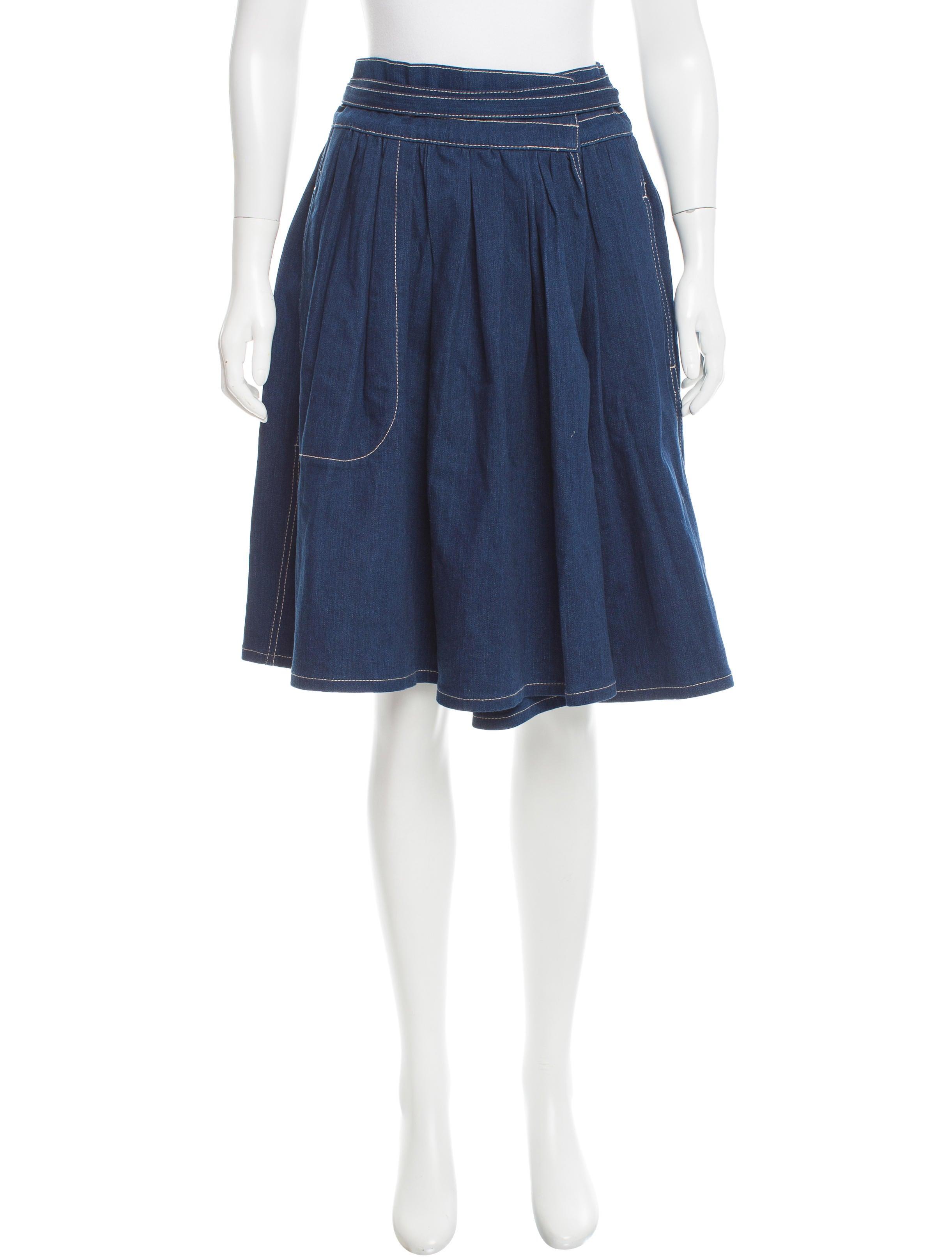 marc denim wrap skirt w tags clothing mar42173
