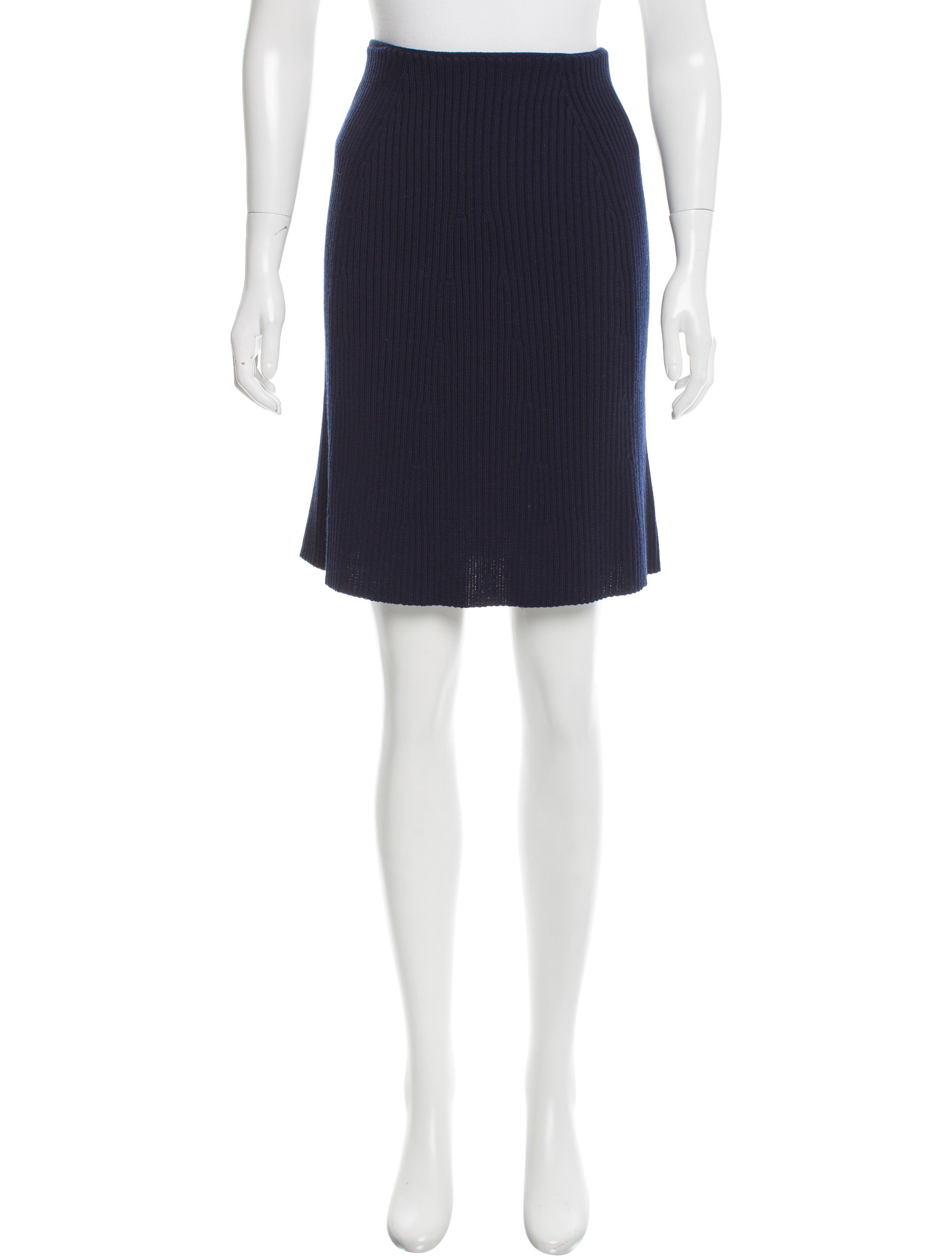marc wool knee length skirt clothing mar42355