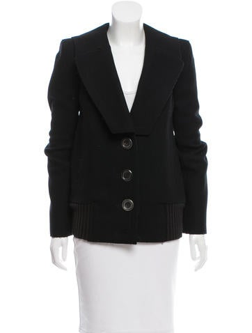 Marc Jacobs Wool Short Coat None