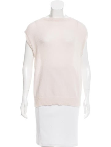 Marc Jacobs Cashmere Open Knit Top None