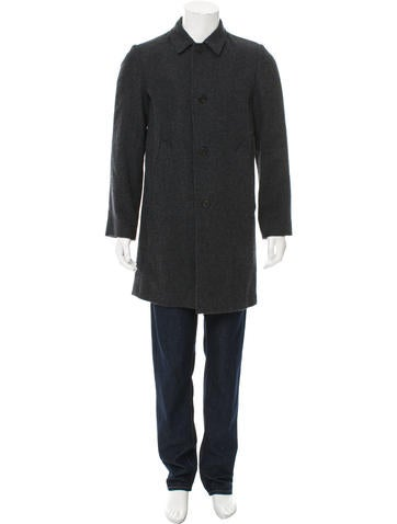 Marc Jacobs Virgin Wool Three-Button Coat w/ Tags None