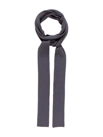 Marc Jacobs Rib Knit Narrow Scarf None