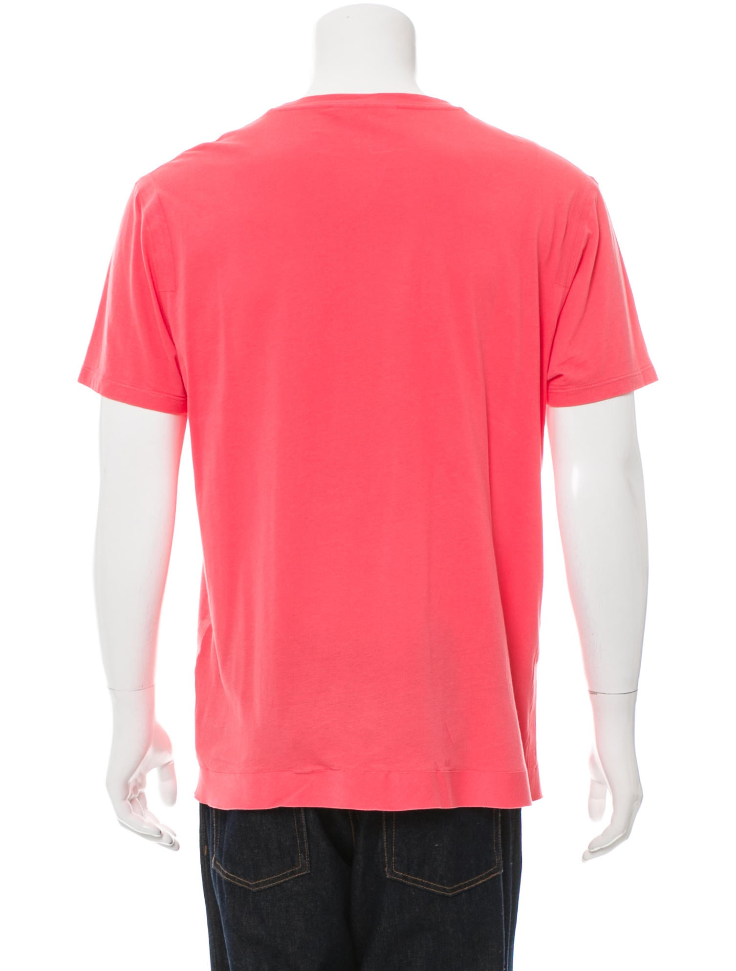Marc jacobs scoop neck short sleeve t shirt clothing for Scoop neck t shirt