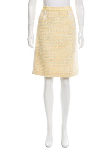 Marc Jacobs Wool Knee-Length Skirt None