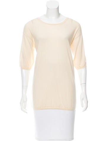 Marc Jacobs Short Sleeve Knit Top None