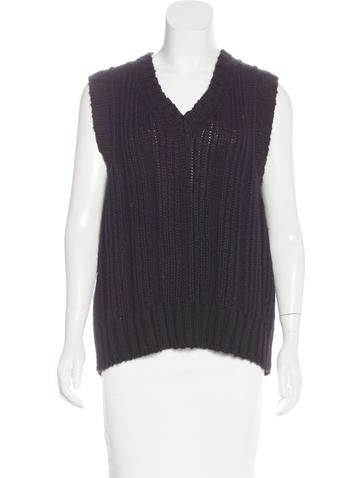 Marc Jacobs Wool-Blend Sweater Vest None