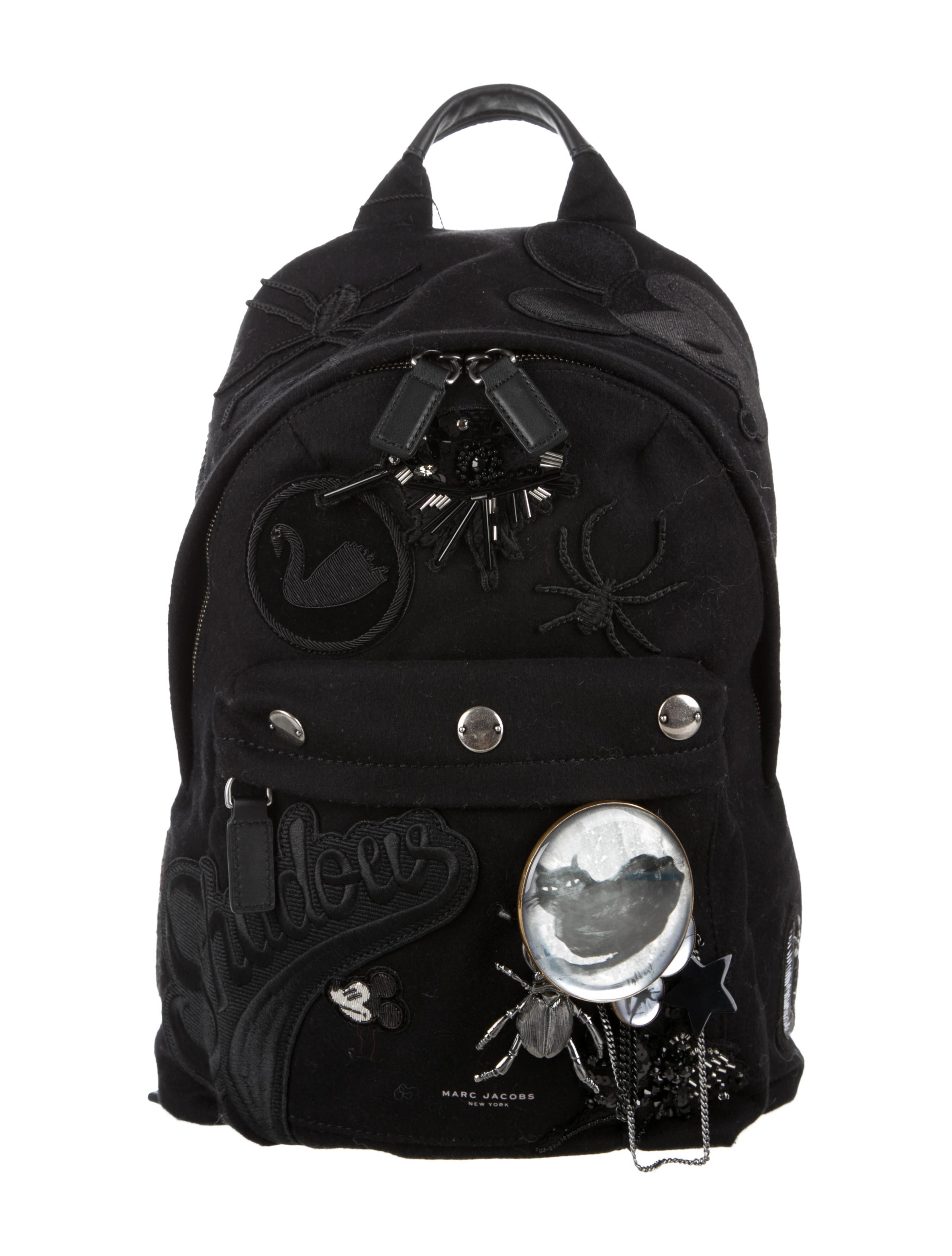 84fcc239cb Marc Jacobs Embellished Rummage Backpack - Handbags - MAR44083