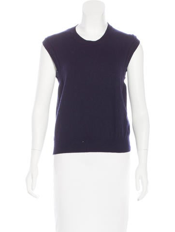 Marc Jacobs Cashmere & Wool-Blend Knit Top None