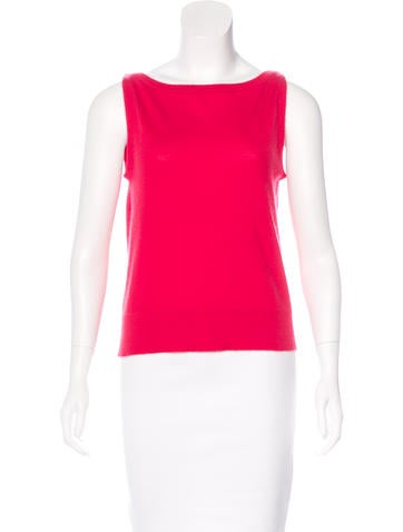 Marc Jacobs Cashmere Sleeveless Top None