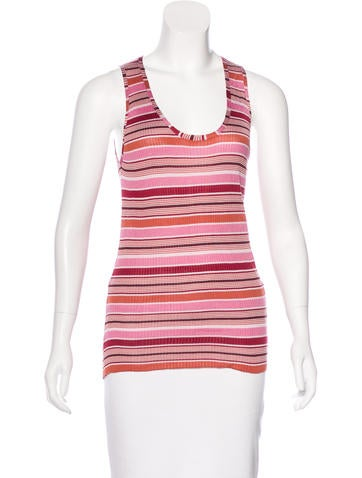 Marc Jacobs Striped Rib Knit Top w/ Tags None